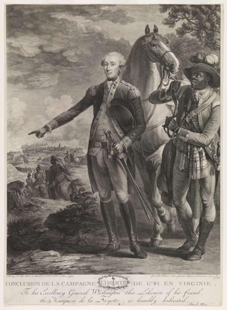 Conclusion de la Campagne Liberté de 1781 en Virginie.