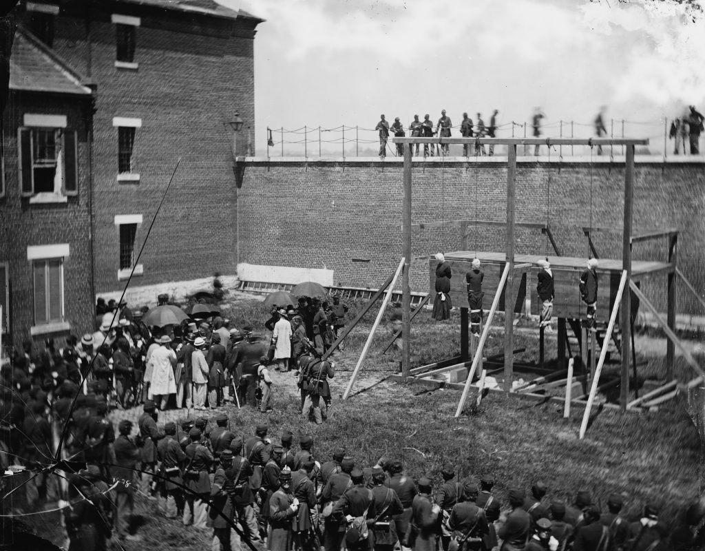 Execution of the Conspirators in Abraham Lincoln's Assassination