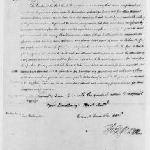 Letter from Thomas Jefferson to George Washington (October 26