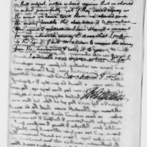 Letter from Thomas Jefferson to Horatio Gates (February 17