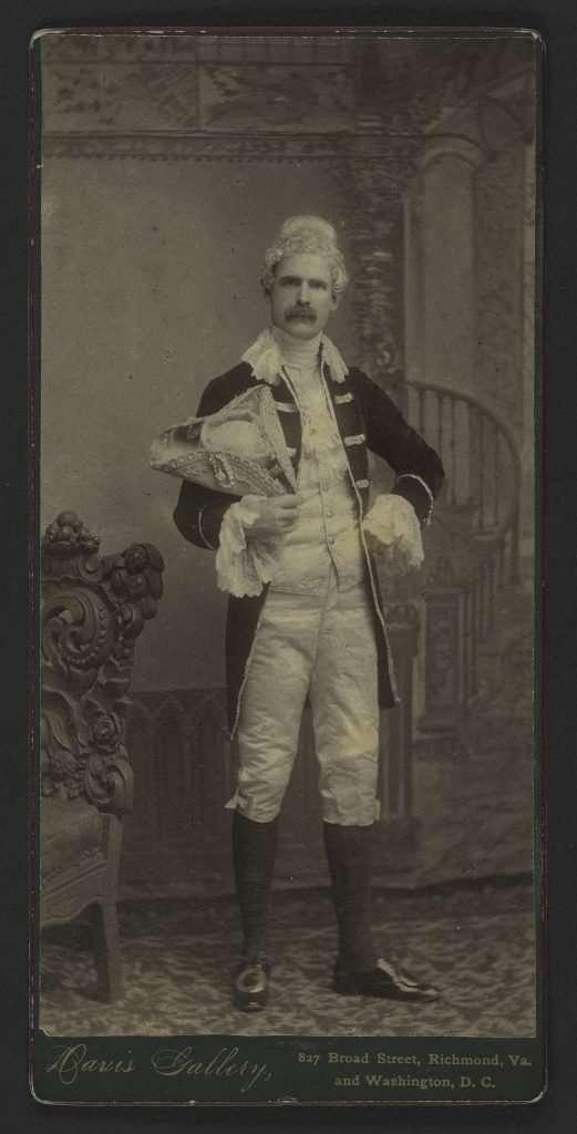 Philip Alexander Bruce in Colonial Garb
