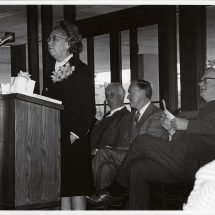 Dedication of Law Library on North Grounds