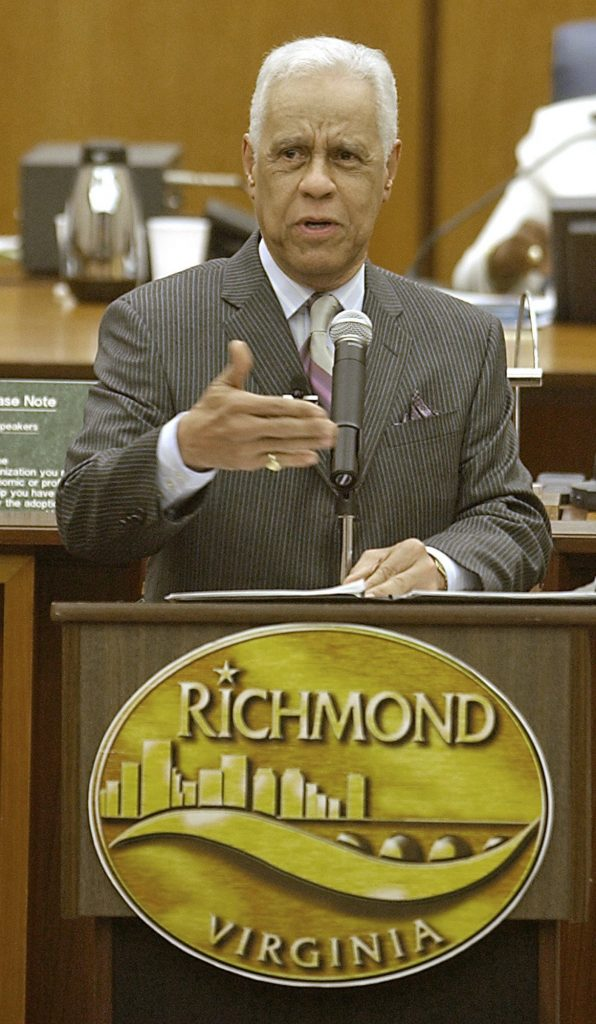"Richmond Mayor L. Douglas Wilder Delivers His ""State of the City"" Address"
