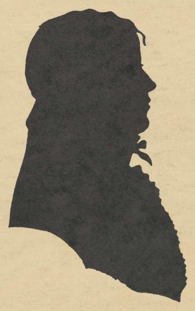 Silhouette of Jack Jouett