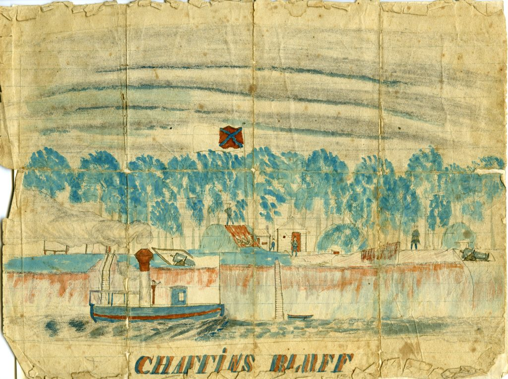 Chaffin's Bluff on the James River