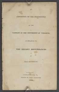 University of Virginia Riot of 1836