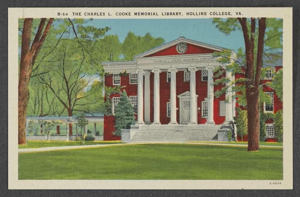 Hollins College Postcard