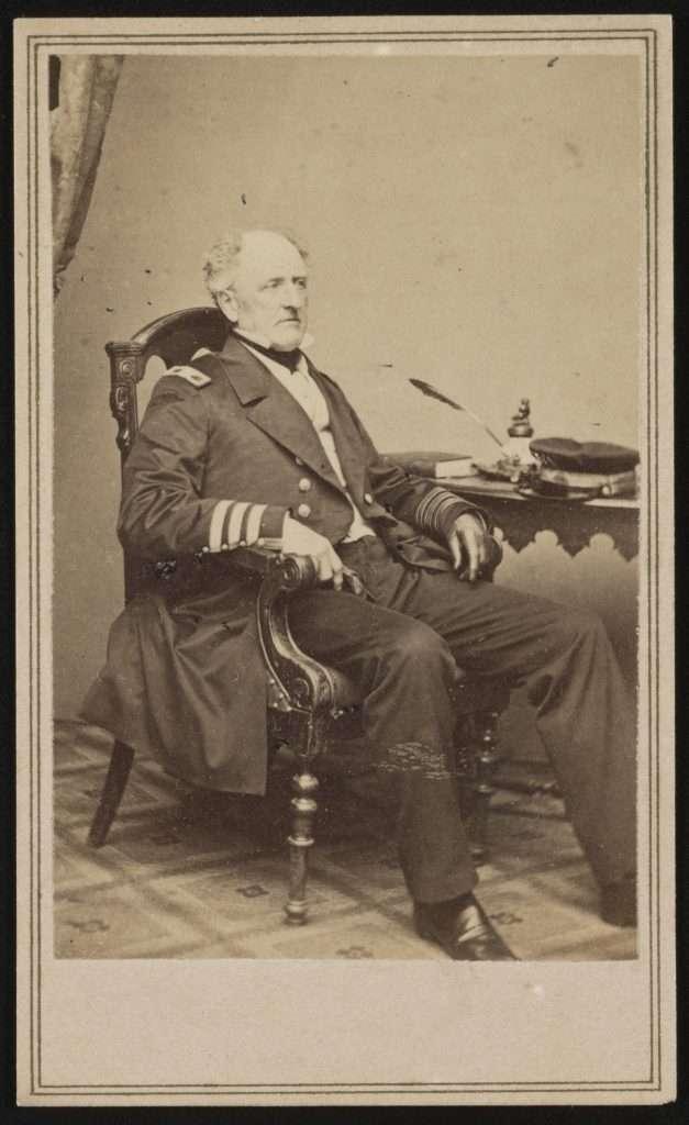 Admiral Franklin Buchanan