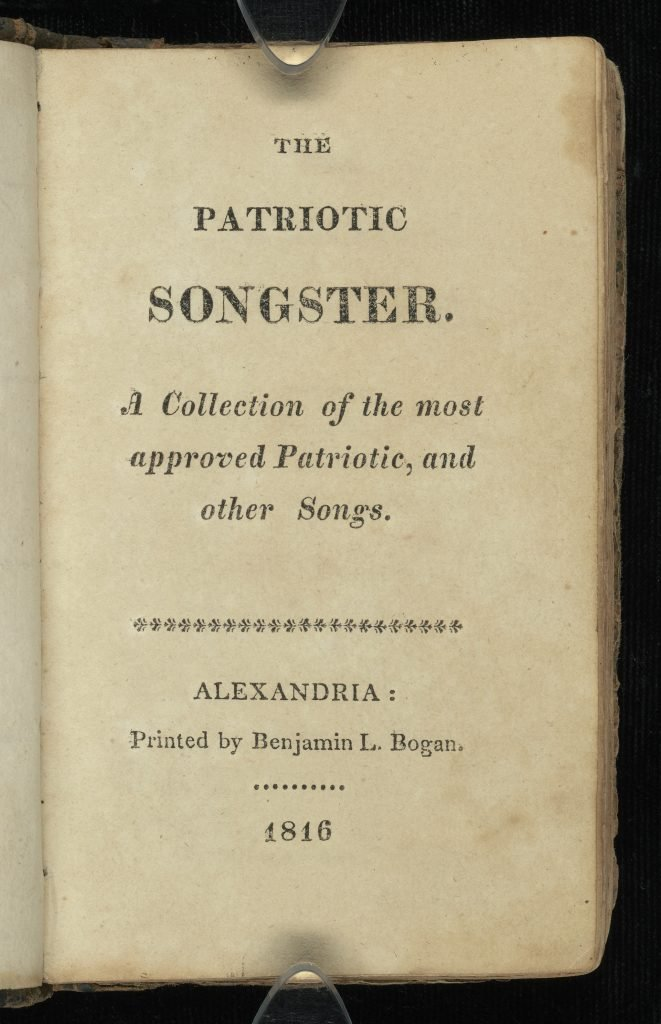 The Patriotic Songster.