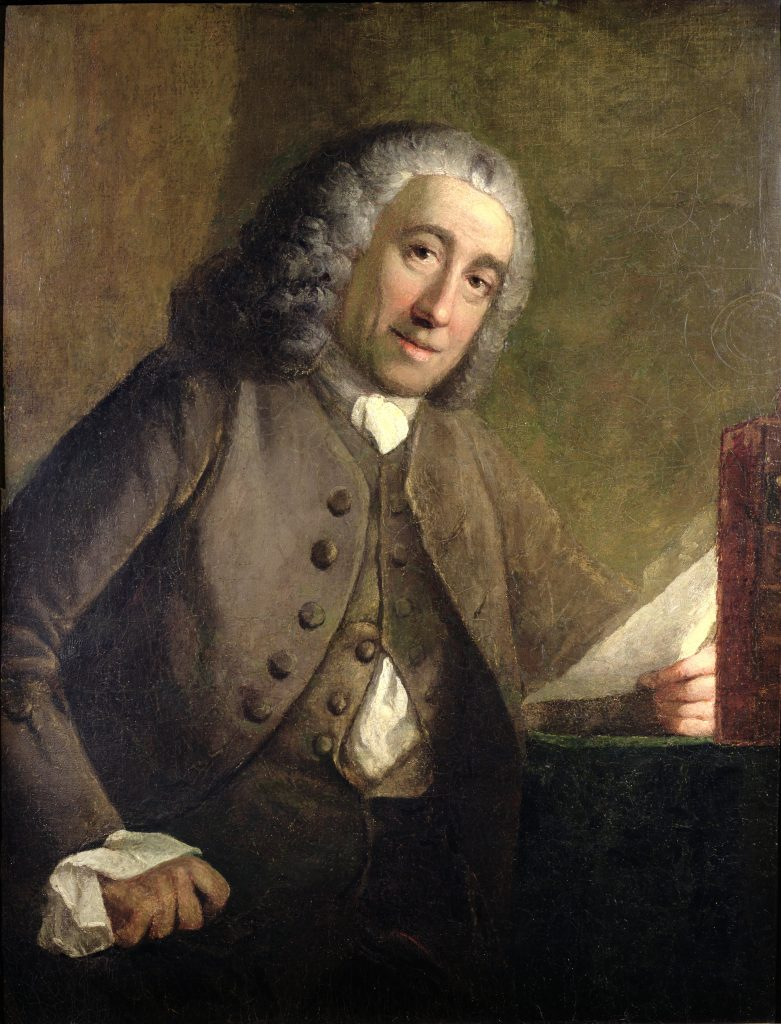 Portrait of Francis Fauquier