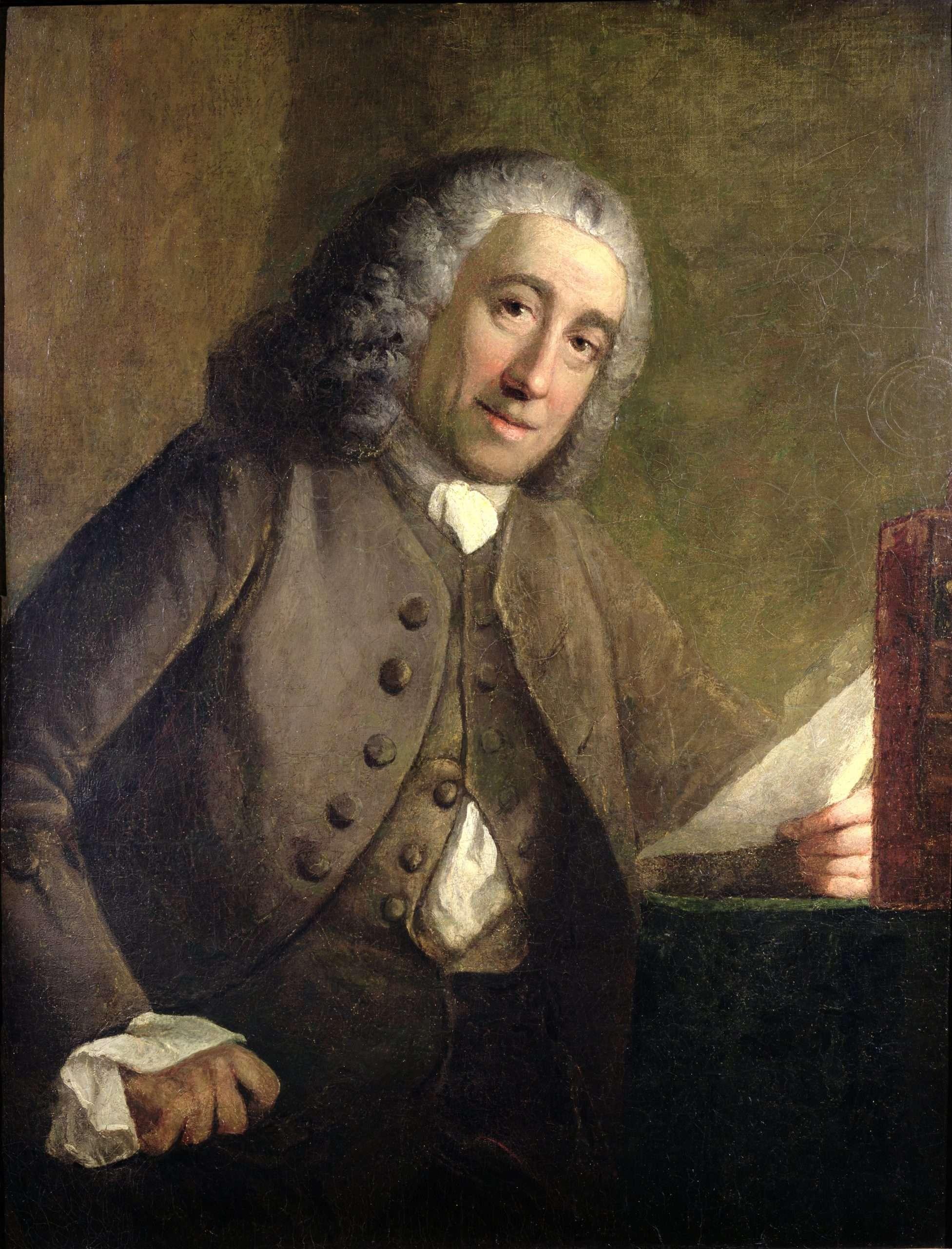 Portrait of Francis Fauquier
