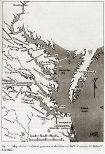 Political Organization in Early Virginia Indian Society