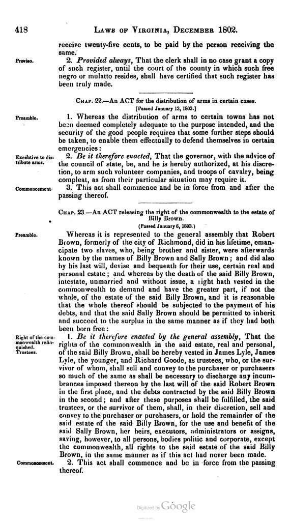 Statutes at Large (1835)