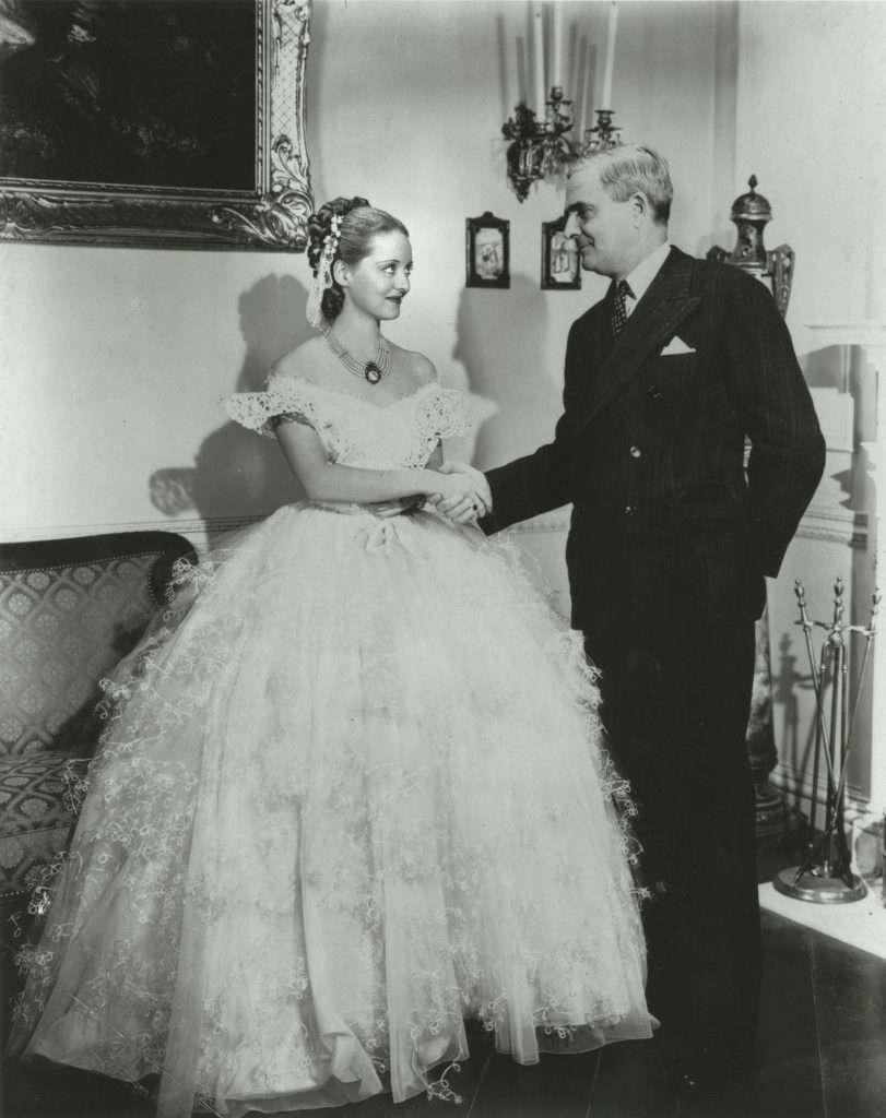 Governor James Price with Bette Davis