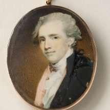 Miniature Portrait of Thomas Law