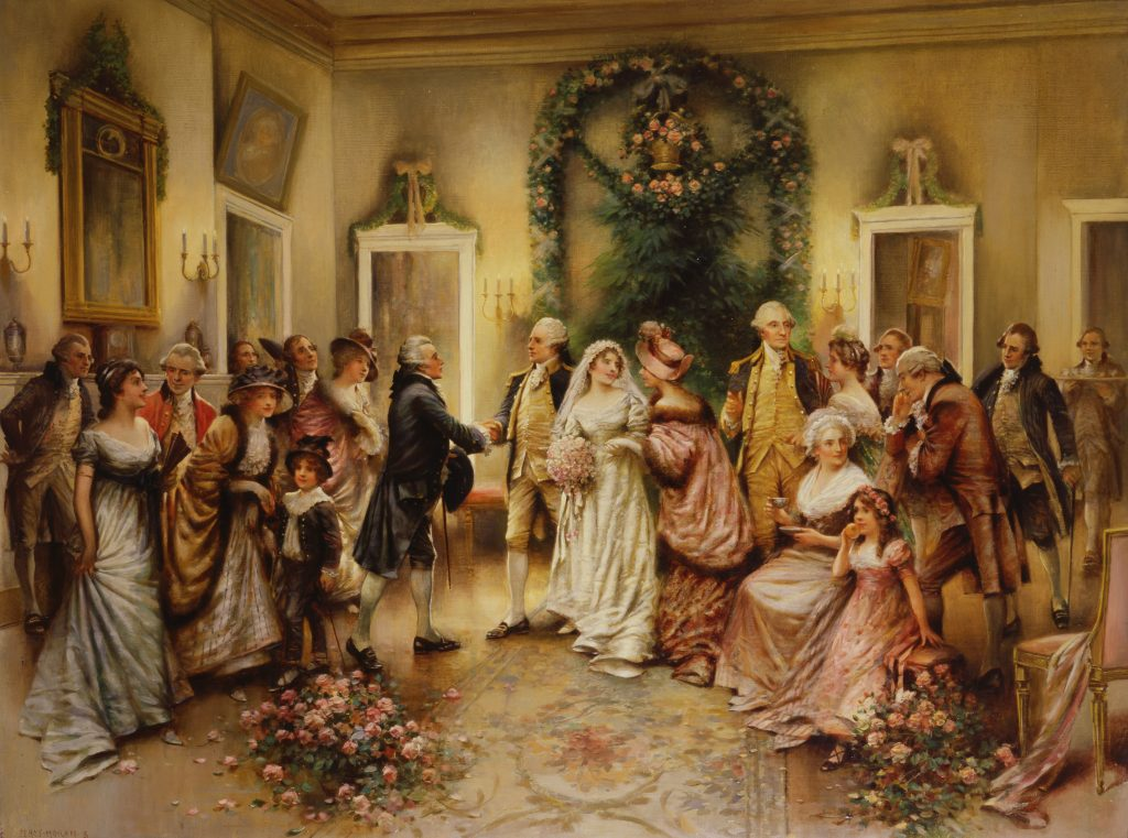 The Marriage of Nelly Custis