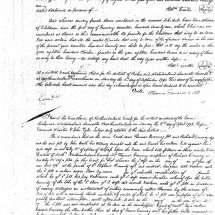 Robert Carter III's Deed of Gift (August 1