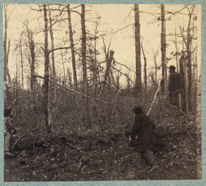 Wilderness during the Civil War, The