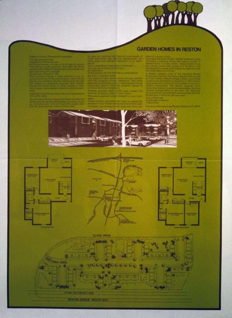 Advertisement for Reston
