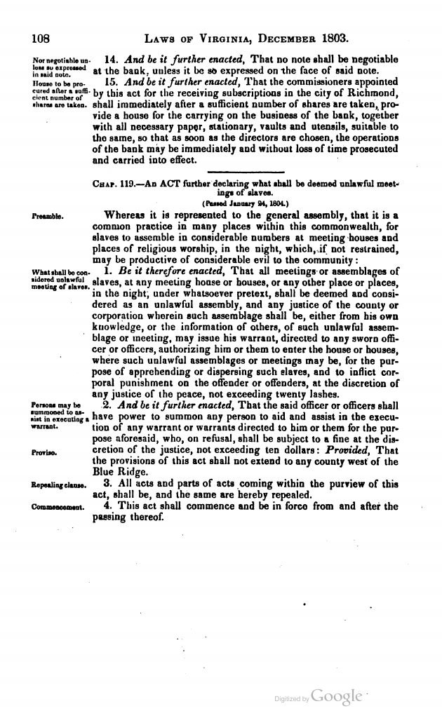 The Statutes at Large of Virginia (1836)