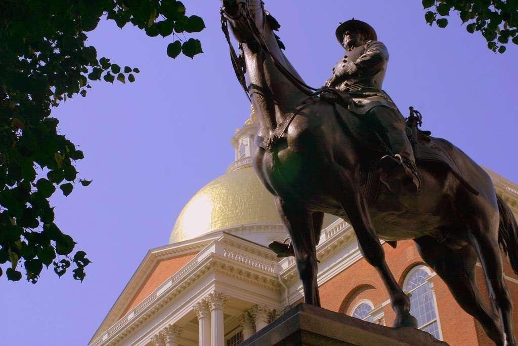 Joseph Hooker Statue in Massachusetts