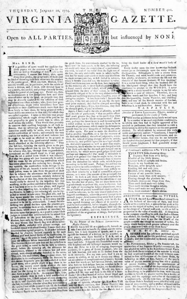 Virginia Gazette