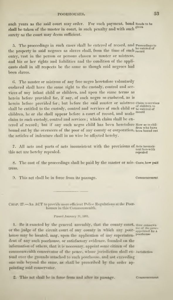 Acts of the General Assembly of the State of Virginia (1861)