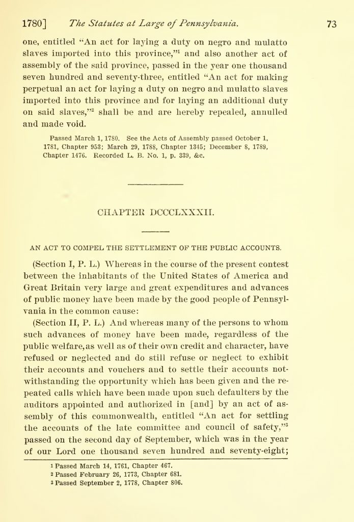 The Statutes at Large of Pennsylvania (1904)