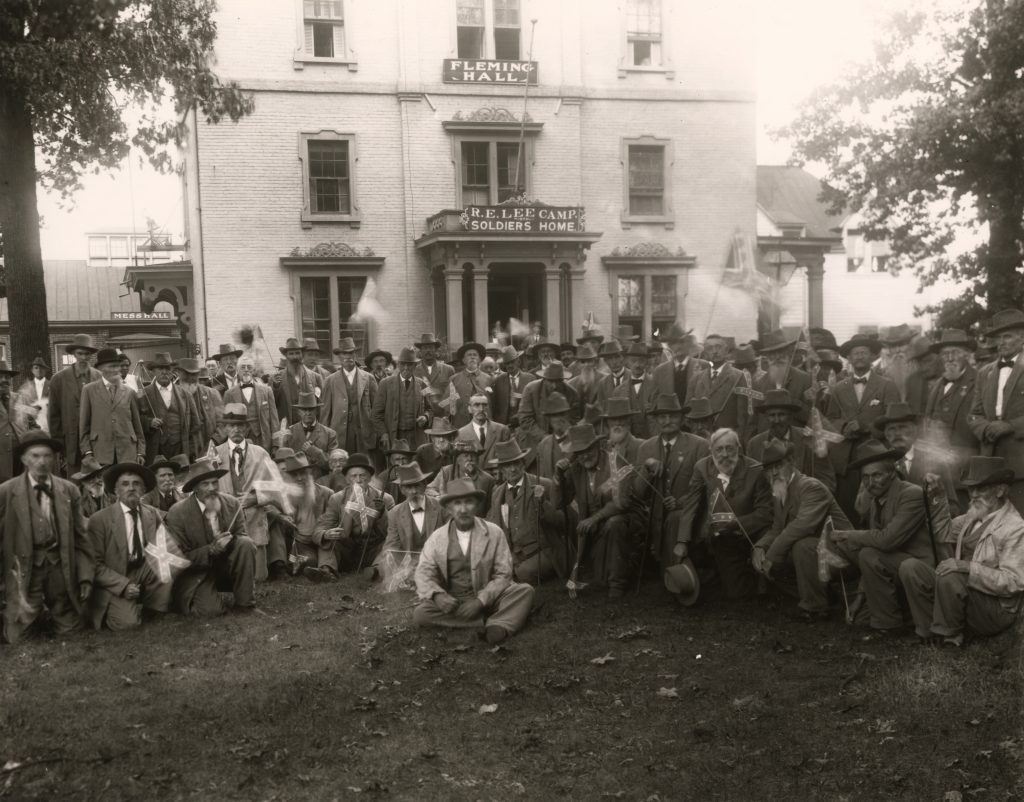 Residents of the R. E. Lee Camp Soldiers' Home