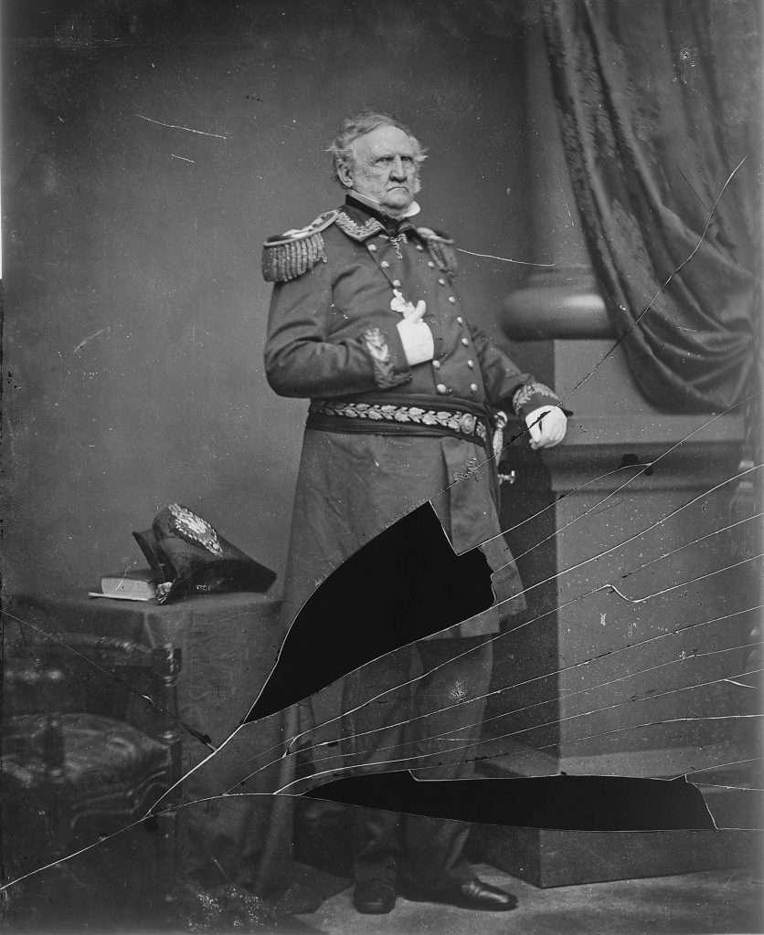 General Winfield Scott during the Civil War