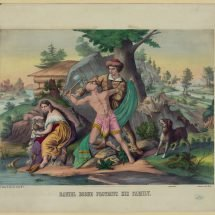 Daniel Boone Protects His Family.