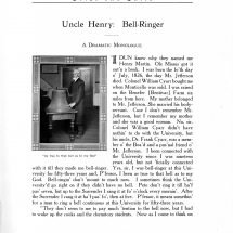 Uncle Henry: Bell-Ringer