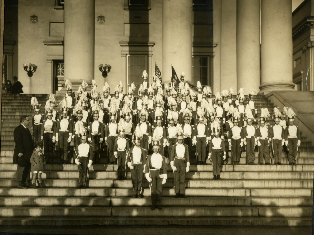 """Governor E. Lee Trinkle and the """"Baby Blues"""""""