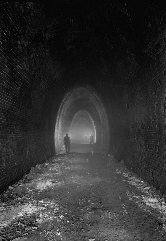 Interior of Crozet Tunnel
