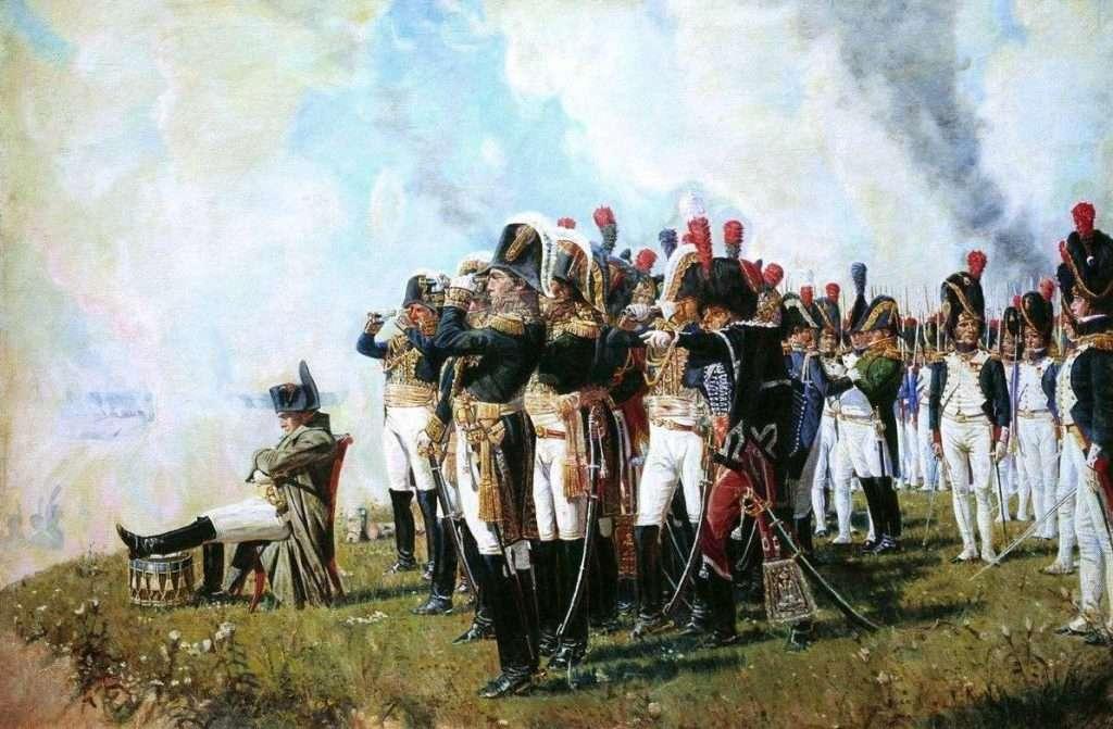 Napoleon I on the Borodino Heights