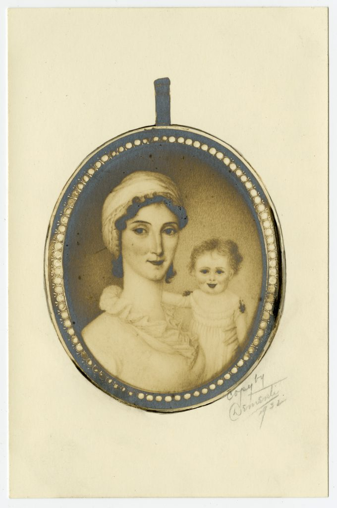 Lucy Landon Carter Minor and Daughter Mary
