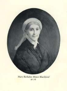 Blackford, Mary Berkeley Minor (1802–1896)
