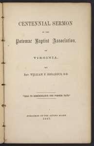 Broaddus, William F. (1801–1876)