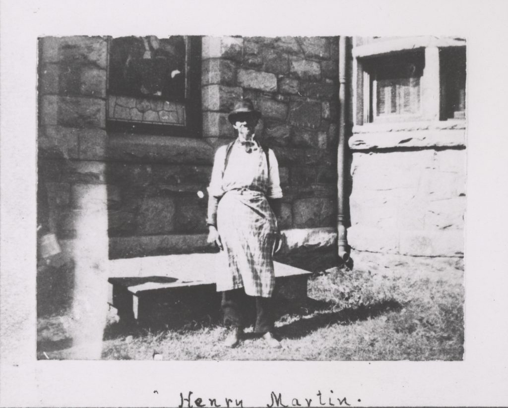 Henry Martin Next to the University Chapel