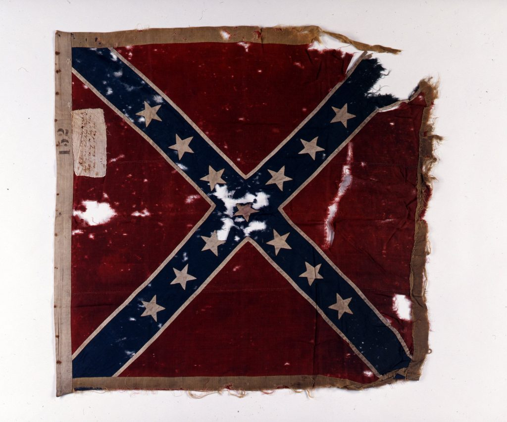 49th North Carolina Infantry Flag at the Crater