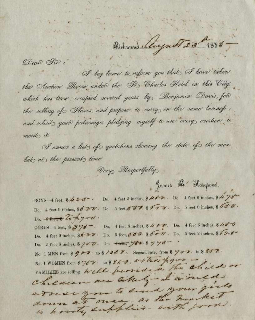 Slave Trader Announcement