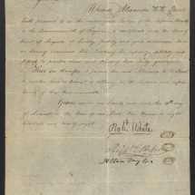 Alexander H. H. Stuart's Law License