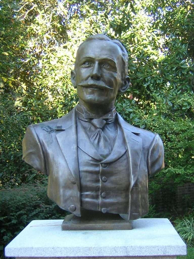 Bust of Lyon G. Tyler