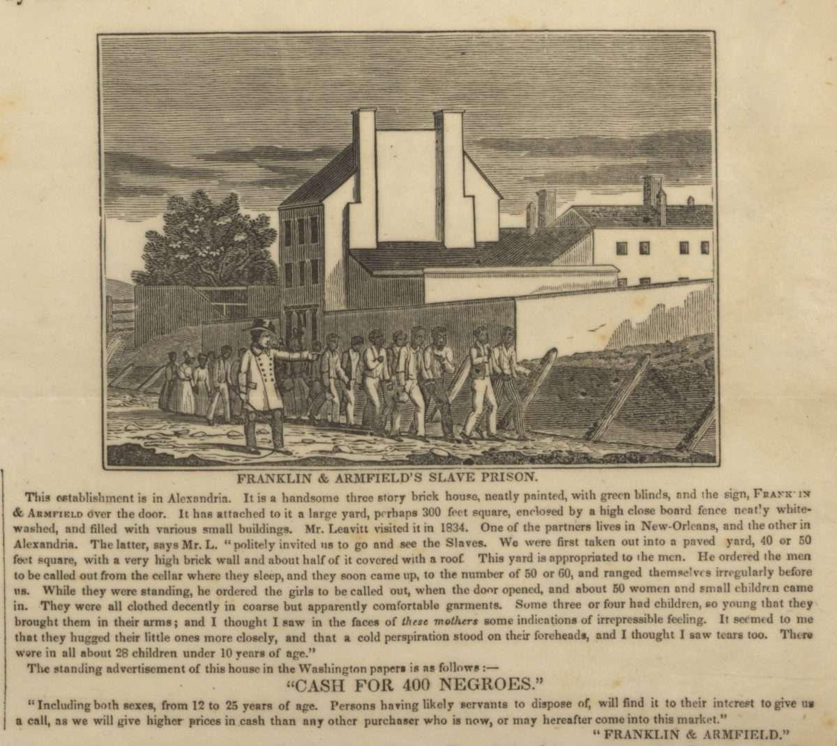 Franklin & Armfield Slave-Trading Firm