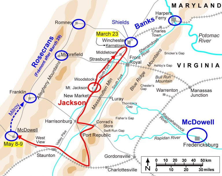 Jackson's Valley Campaign: Kernstown to McDowell