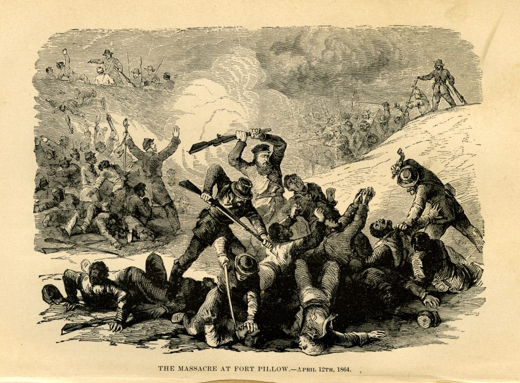 The Massacre at Fort Pillow.