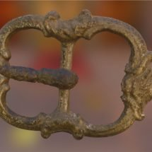 Artifact from Mount Vernon Slave Quarters