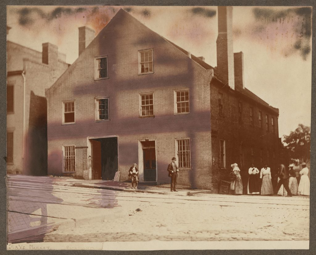 Former Slave Auction Site