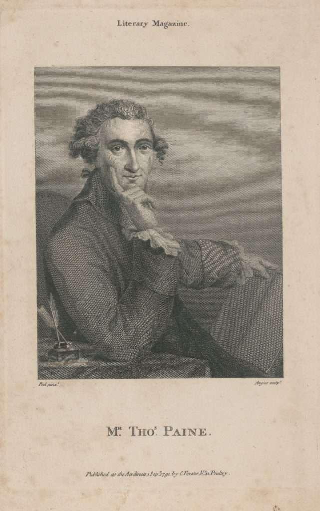 Mr. Tho' Paine.