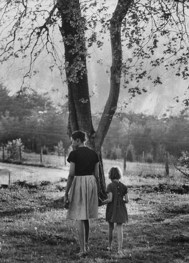 Mildred Loving and Her Daughter